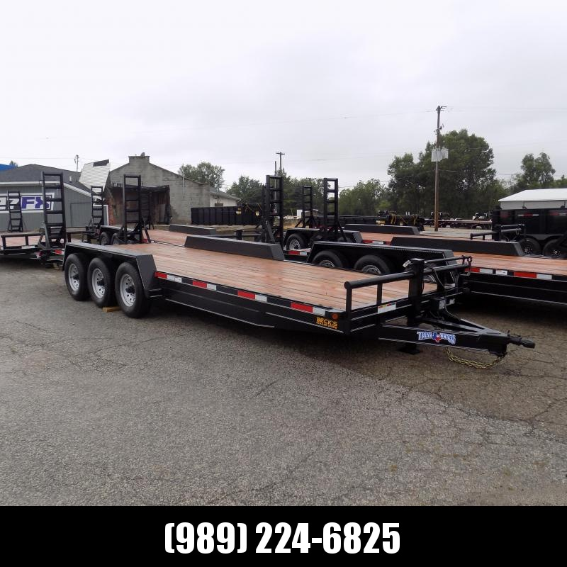 "New Texas Bragg Trailer 83"" x 24' Open Car Hauler/Equipment Trailer - $0 Down w/Flexible Financing Available"