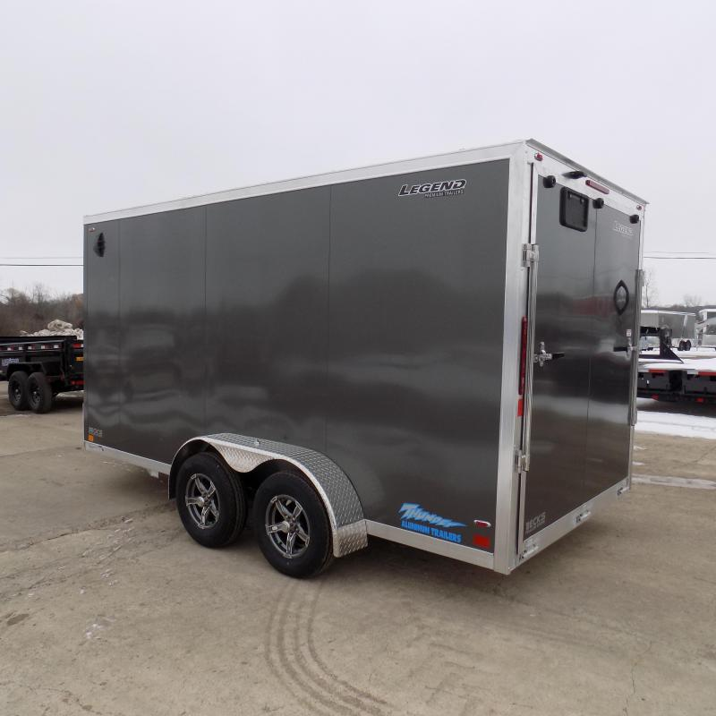 New Legend Thunder 7' X 16' Aluminum Enclosed Cargo Trailer For Sale - $0 Down Payments From $109/Mo W.A.C