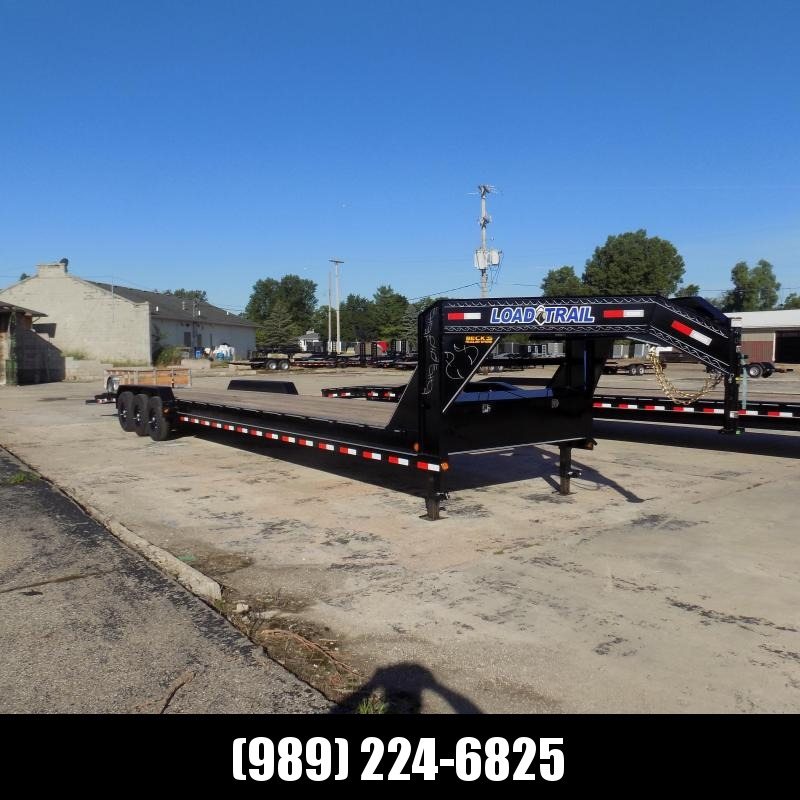 "New Load Trail 83"" x 40' Gooseneck Car Hauler For Sale - Triple Axle - $0 Down Financing Available"