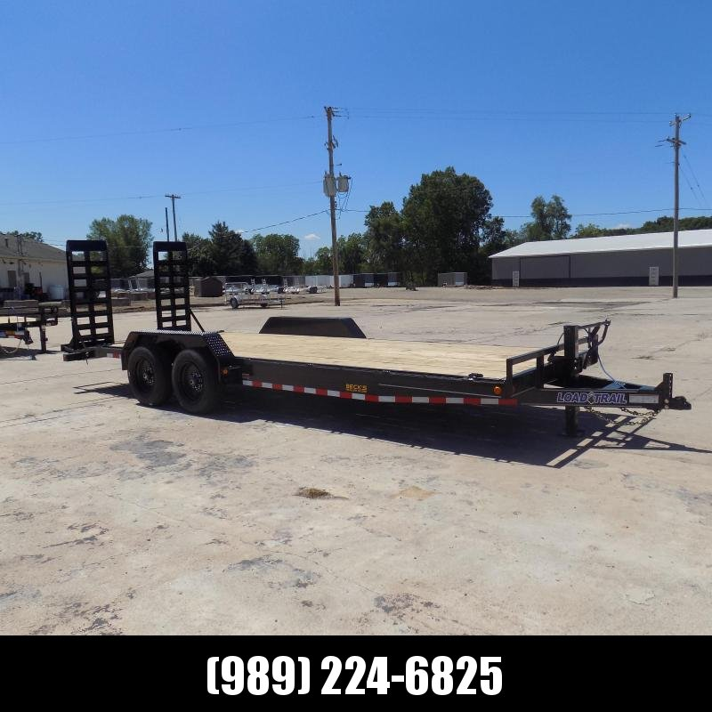 """New Load Trailer 83"""" x 22' Car Hauler Trailer W/8K Axles - $0 Down & Payments from $121/mo. W.A.C."""
