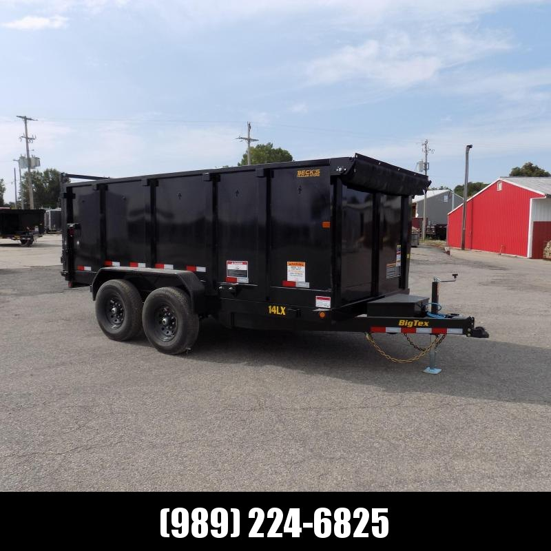 "New Big Tex 7' x 14' Dump Trailer with 48"" Sides - $0 & $129/mo. W.A.C."