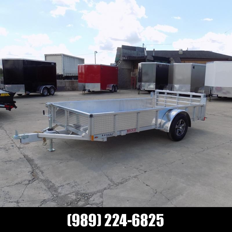 New Legend Open Deluxe 6' x 12' Aluminum Utility - $0 Down & Payments From $83/mo. W.A.C.