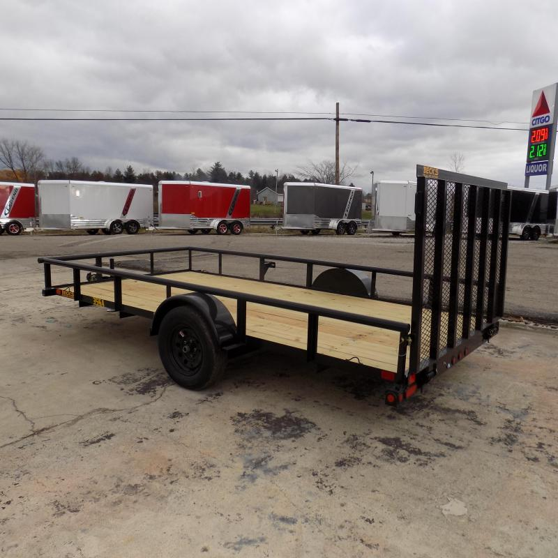 New Big Tex 7' x 14' Utility Trailer For Sale - $0 Down & Payments From $56/mo. W.A.C.