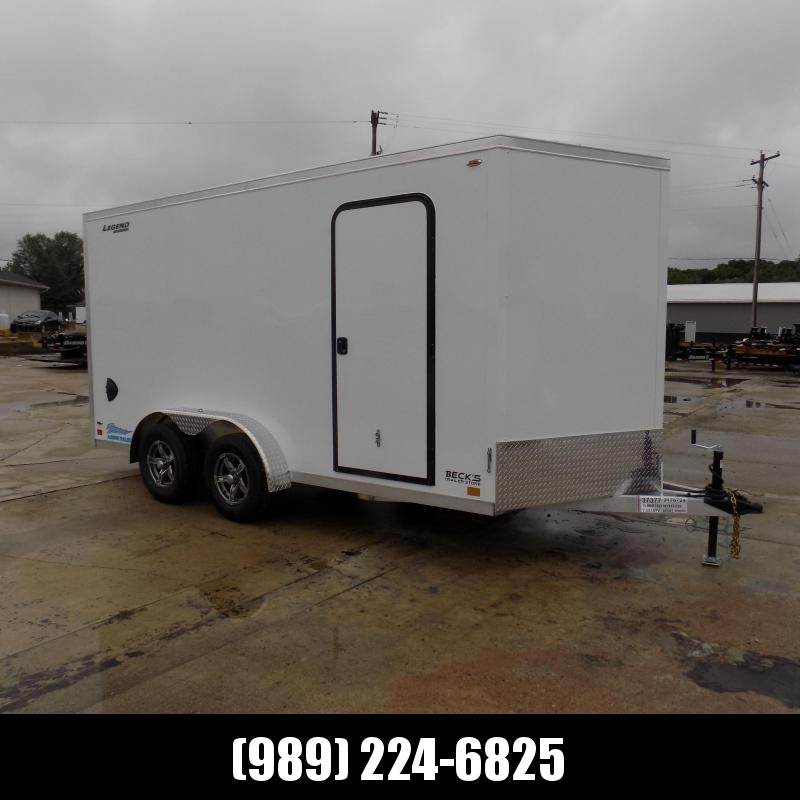 New Legend Thunder 7.5' x 16' Aluminum Enclosed Cargo Trailer for Sale- $0 Down Payments From $133/Mo W.A.C.