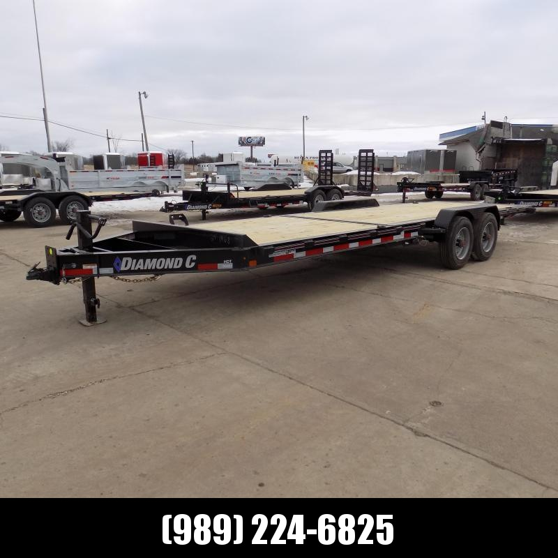 "New Diamond C HDT 82"" x 24' Tilt Deck Equipment Trailer - 10K Torsion Axles - Flexible $0 Down Financing Options Available"