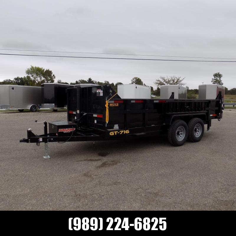 New DuraDump 7' x 16' Dump Trailer For Sale - $0 Down & Payments From $151/mo. W.A.C.