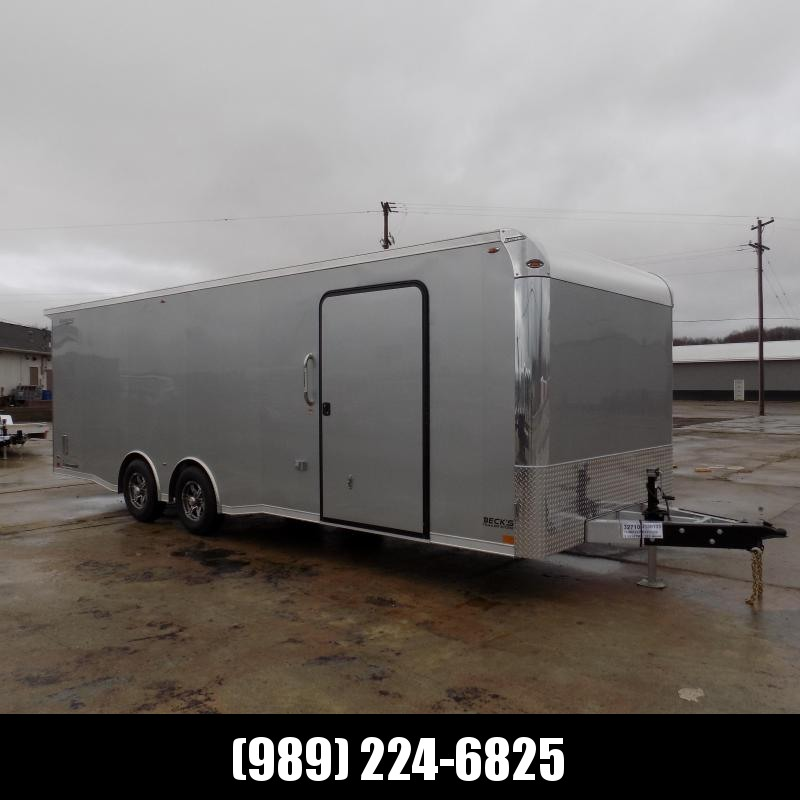 New Legend Trailmaster 8.5' x 24' Aluminum Race Series Trailer With 5200# Torsion Axles - $0 Down Financing Available