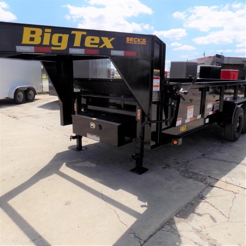 New Big Tex 7' x 16' Gooseneck Dump Trailer For Sale - $0 Down & $145/mo. W.A.C.