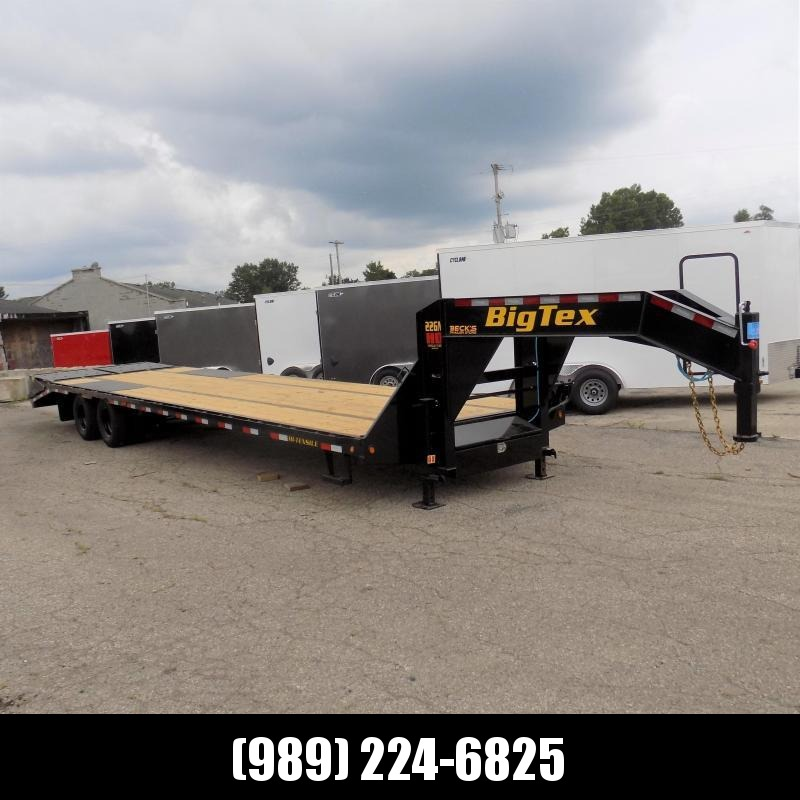 """New Big Tex 102"""" x 30' + 5' Gooseneck Trailer w/ 23900# Weight Rating - $0 Down Financing Available"""