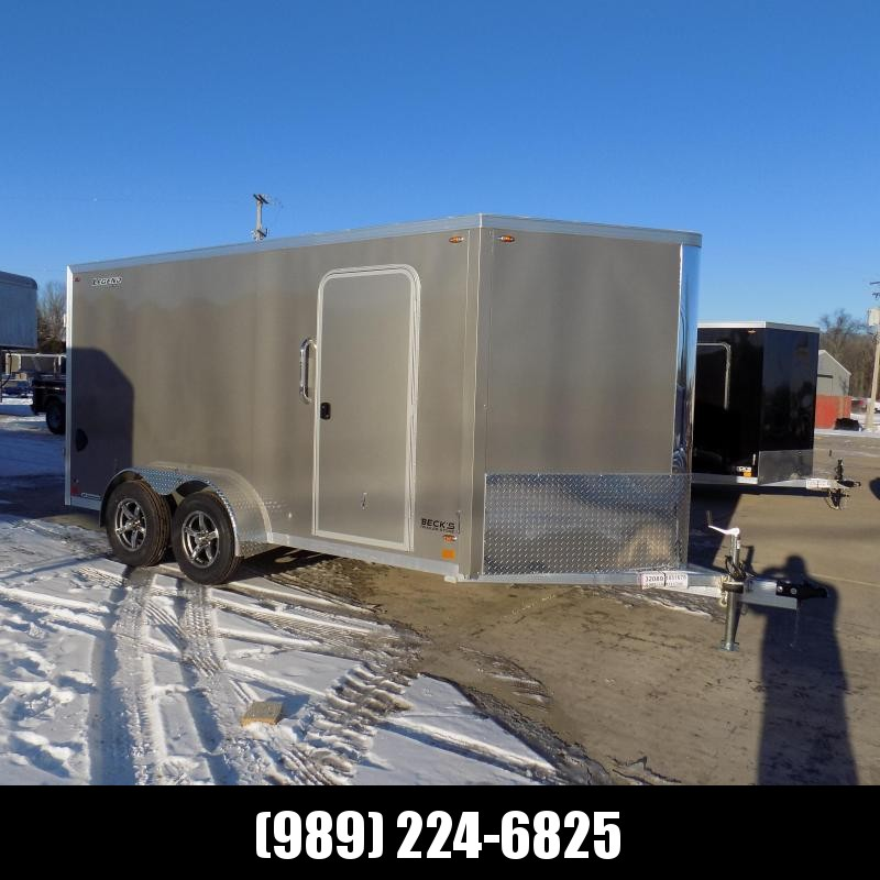New Legend FTV 7' x 17' Aluminum Enclosed Cargo Trailer - Best Built Cargo Trailer - $0 Down & Payments From $129/mo. W.A.C.