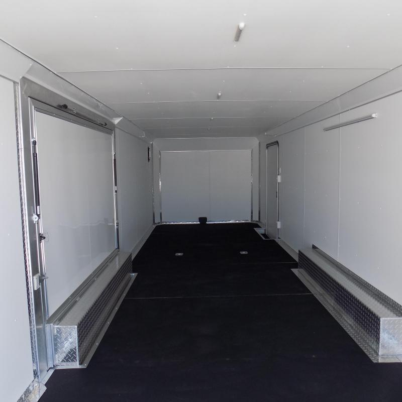 New Legend Trailmaster 8.5' x 28' Aluminum Race Series Trailer w/ Escape Door & 7K Torsion Axles - $0 Down Financing Available