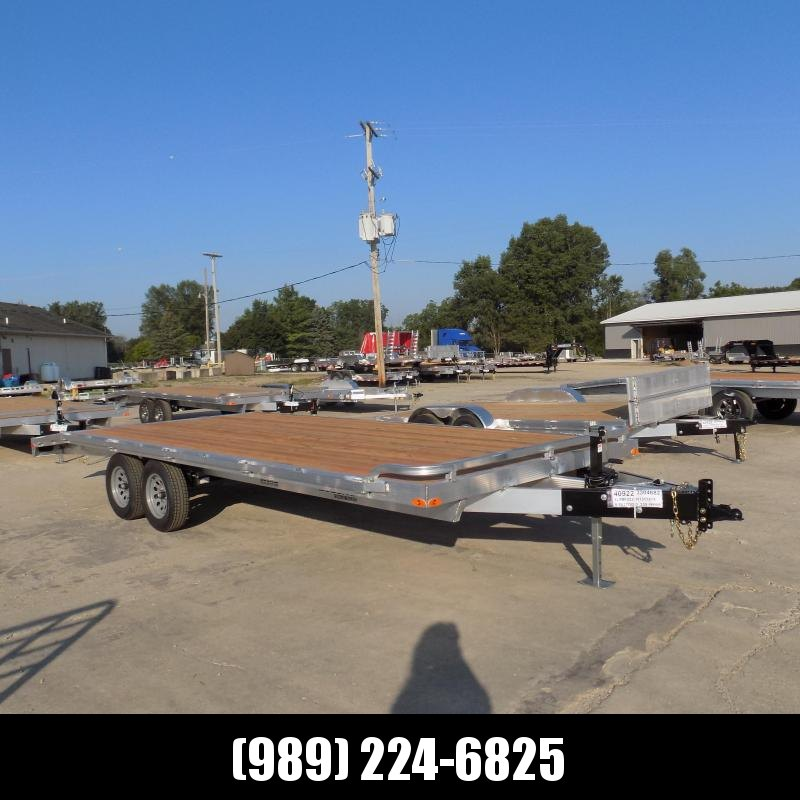 New Legend 8.5' x 22' All Aluminum Deckover Equipment Trailer - $0 Down & Payments From $113/mo. W.A.C.