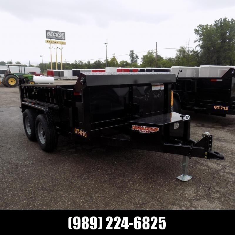 New DuraDump 6' x 10' Dump Trailer For Sale - Only $121/mo. & $0 Down Payment W.A.C.