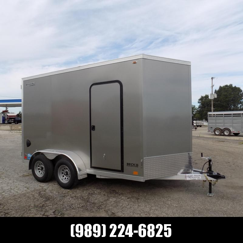 New Legend Thunder 7' x 14' Aluminum Enclosed Cargo Trailer for Sale- $0 Down Payments From $113/Mo W.A.C.