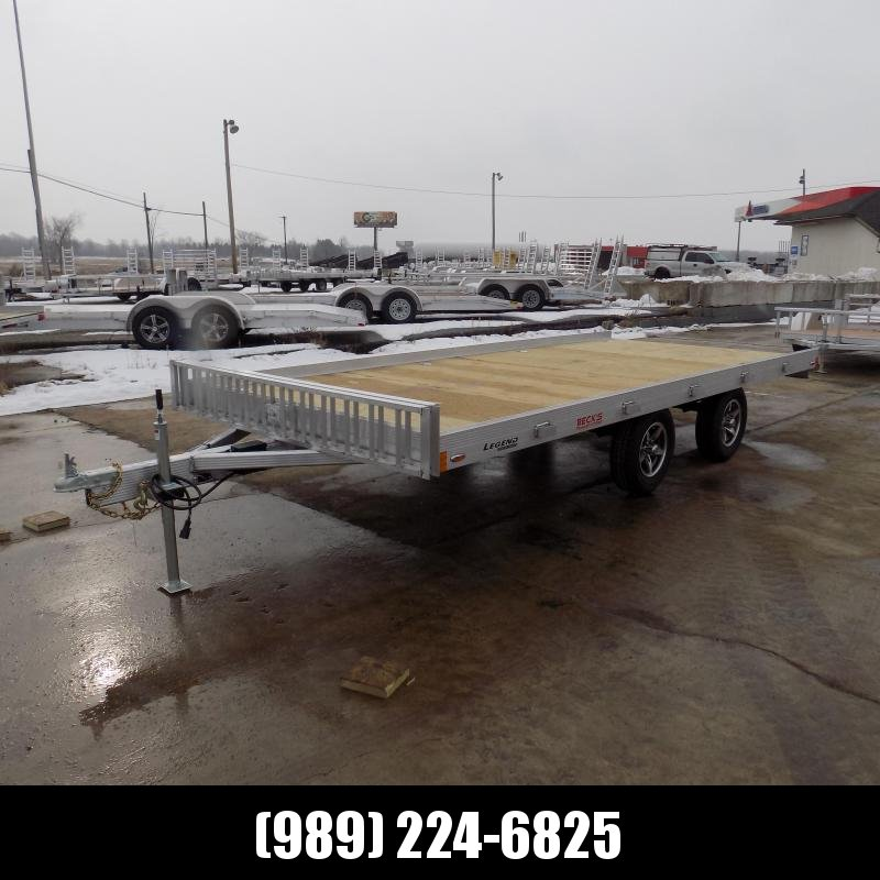 New Legend 7' x 16' Aluminum ATV Trailer For Sale - Payments From $59/mo. W.A.C.