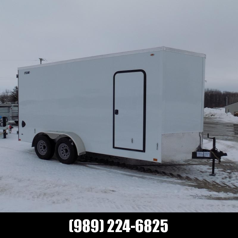 New Legend Trailers Legend Cyclone 7' x 18' Enclosed Cargo Trailer for Sale - 5200# Axles - $0 Down & Payments From $129/mo. W.A.C.