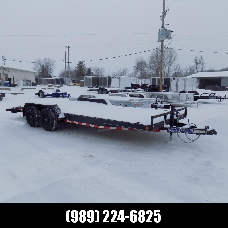 "New Load Trailer 7"" x 20' Car Hauler Trailer For Sale - $0 Down & Payments from $113/mo. W.A.C."