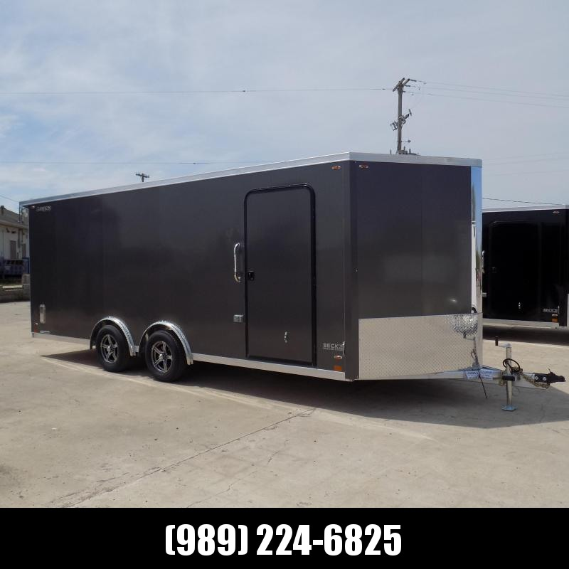 New Legend FTV 8' x 23' Aluminum Cargo Trailer - Perfect For All Your Toys & Cargo - $0 Down Financing Available