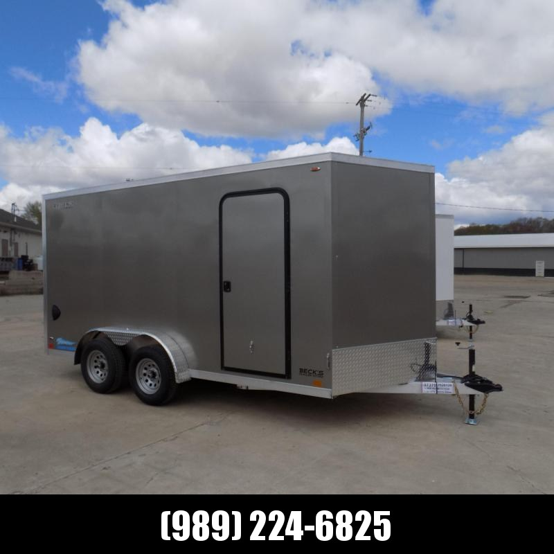 New Legend Thunder 7.5' x 16' Aluminum Enclosed Cargo -7.5' Wide & No Interior Wheel Wells! $0 Down & Payments From $109/Mo W.A.C