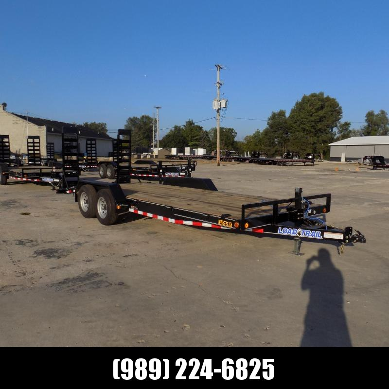 """New Load Trailer 83"""" x 20' Open Car Hauler/Equipment Trailer - $0 Down & Payments from $105/mo. W.A.C."""