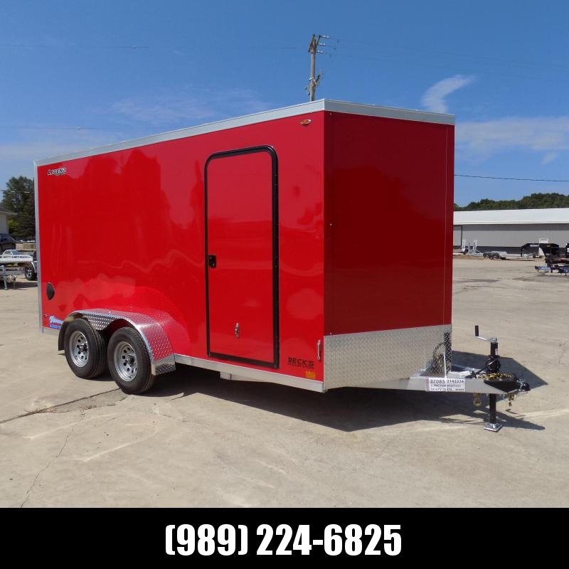 New Legend Thunder 7' x 16' Aluminum Enclosed Cargo Trailer for Sale- $0 Down Payments From $115/Mo W.A.C.