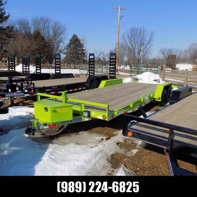 New Load Trailer 7' x 22' Open Car Hauler Trailer For Sale - $0 Down Financing Available