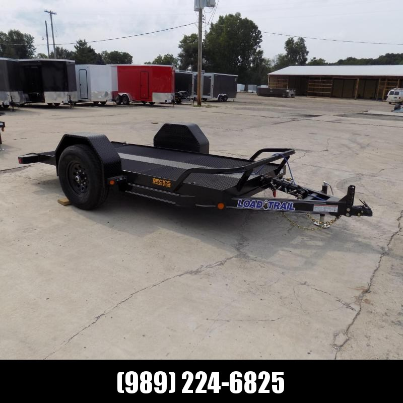 "New Load Trail 60"" X 12' Tilt Scissor Lift Trailer For Sale With 7K Torsion Axle - $0 Down & Payments From $99/mo. W.A.C."