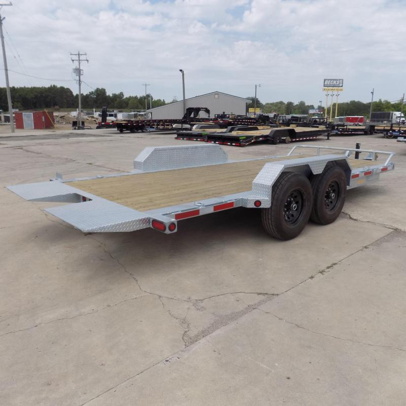 New Galvanized 7' x 20' Tilt Deck Equipment Trailer - Torsion Axles - $0 Down & Payments From $115/mo. W.A.C.