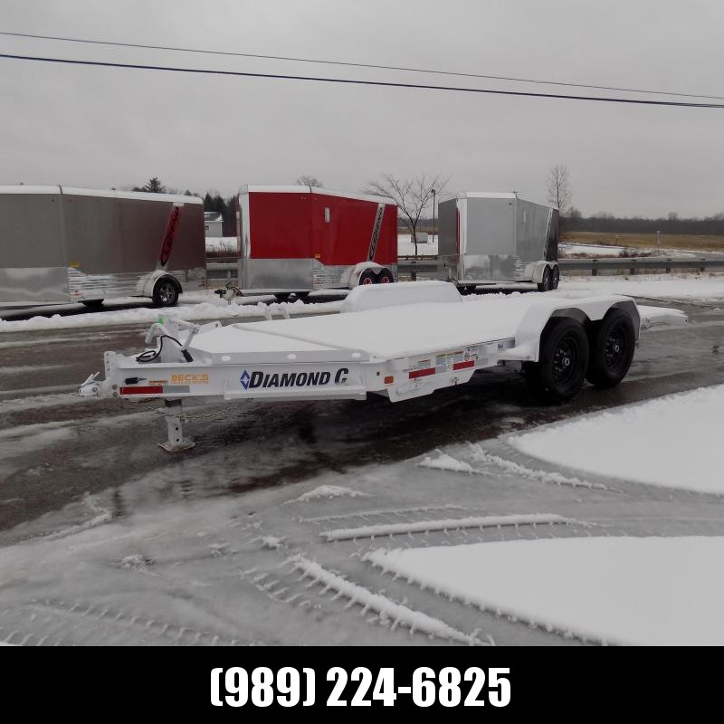 "New Diamond C Trailers 82"" x 16' Tilt Deck Equipment Trailer - $0 Down & Payments from $125/mo. W.A.C."