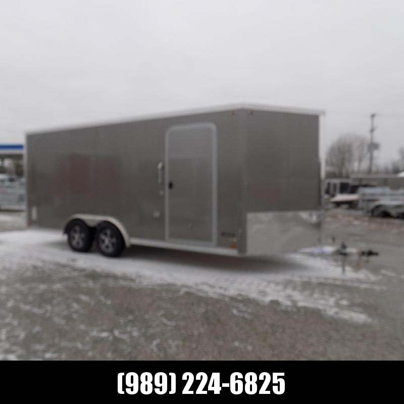 New Legend FTV 8' x 21' Heavy Duty Aluminum Cargo Trailer - $0 Down Financing Available - Perfect For All Your Toys & Cargo