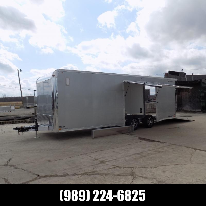 New Legend Trailmaster 8.5' x 24' Aluminum Race Series Trailer - Completely LOADED w/ Escape Door & Torsion Axles - $0 Down Financing Available