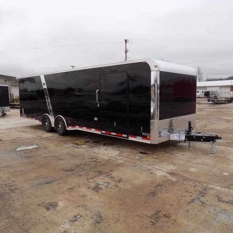 New Legend Trailmaster 8.5' x 28' Aluminum Race Series Trailer w/ Escape Door & Removable Fender - $0 Down Financing Available!