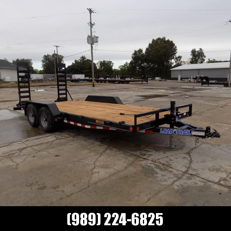 """New Load Trailer 83"""" x 18' Open Car Hauler/Equipment Trailer - $0 Down & Payments from $109/mo. W.A.C."""