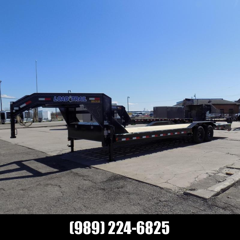 "New Load Trail 102"" x 28' Gooseneck Car Hauler- $0 Down & Payments From $139/mo. W.A.C."
