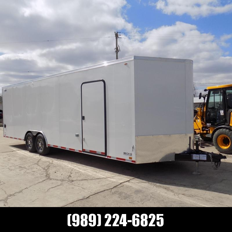 New Legend Trailers Legend Cyclone 8.5' x 28' Enclosed Car Hauler / Cargo Trailer With 7000# Dexter Axles - $0 Down Payments From $149/mo W.A.C.