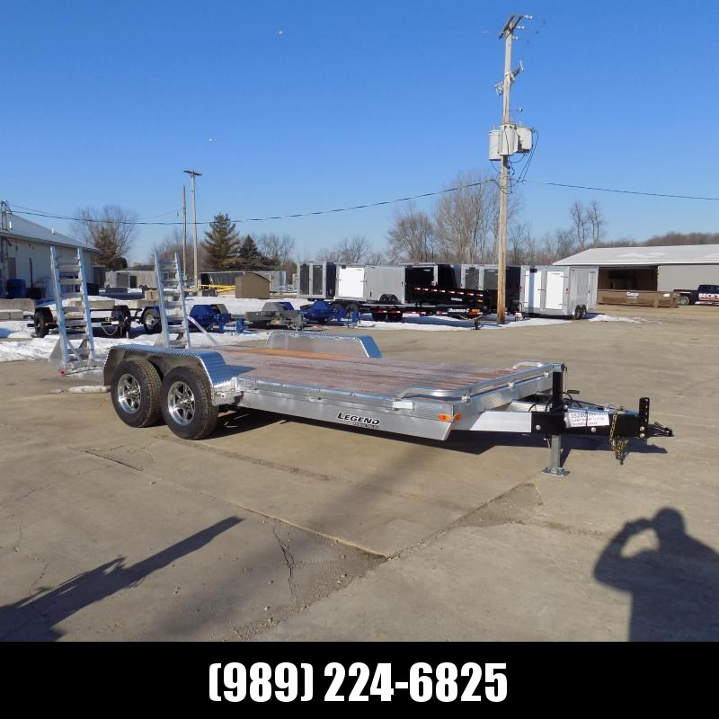 New Legend 7' x 18' Aluminum Equipment Trailer For Sale - $0 Down & Payments from $123/mo. W.A.C