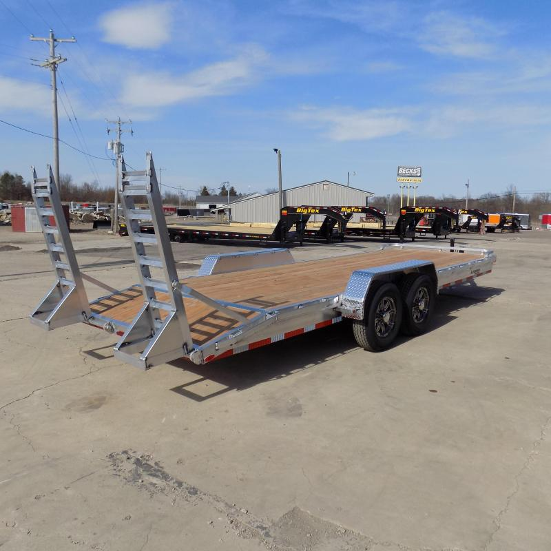New Legend 7' x 22' Aluminum Equipment Trailer With 7K Torsion Axles - $0 Down & Payments from $119/mo. W.A.C