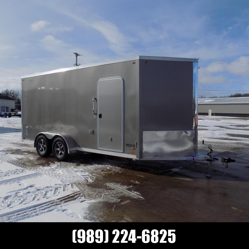 New Legend FTV 7' x 19' Aluminum Enclosed Cargo Trailer - Best Built Cargo Trailer - $0 Down & Payments From $129/mo. W.A.C.