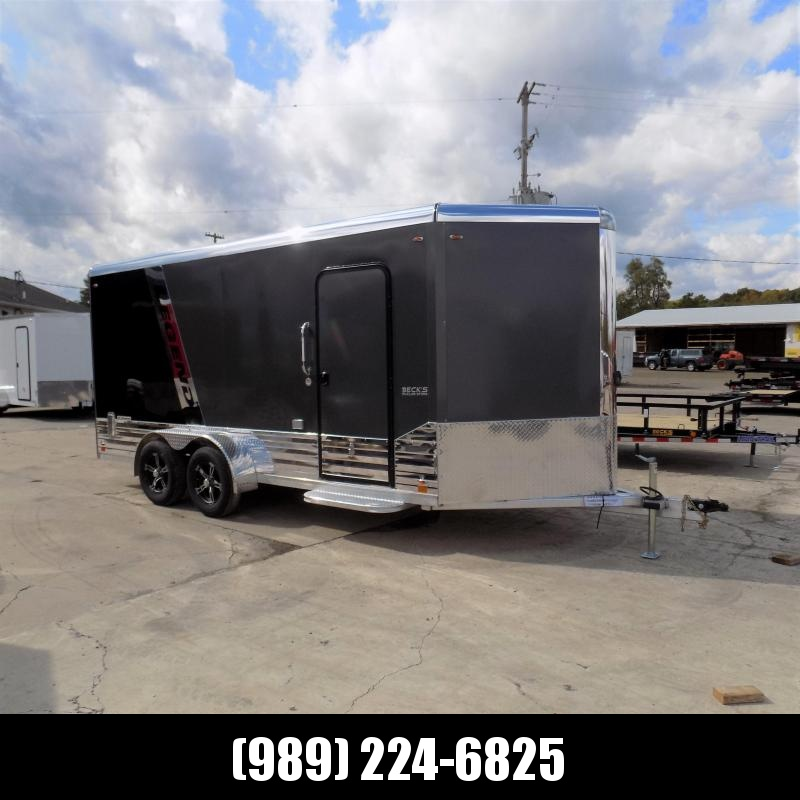 New Legend Deluxe V Nose 7' X 19' All Aluminum Cargo Trailer - $0 Down & Payments from $137/mo. W.A.C.