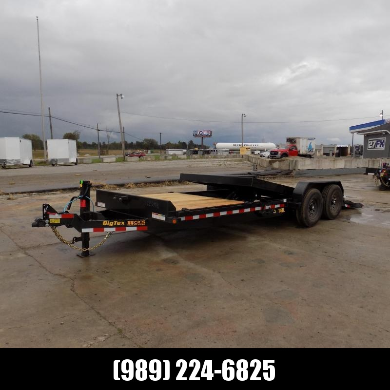 """New Big Tex 80"""" x 22' Tilt Deck Equipment Trailer For Sale - $0 Down & Payments From $121/mo. W.A.C."""