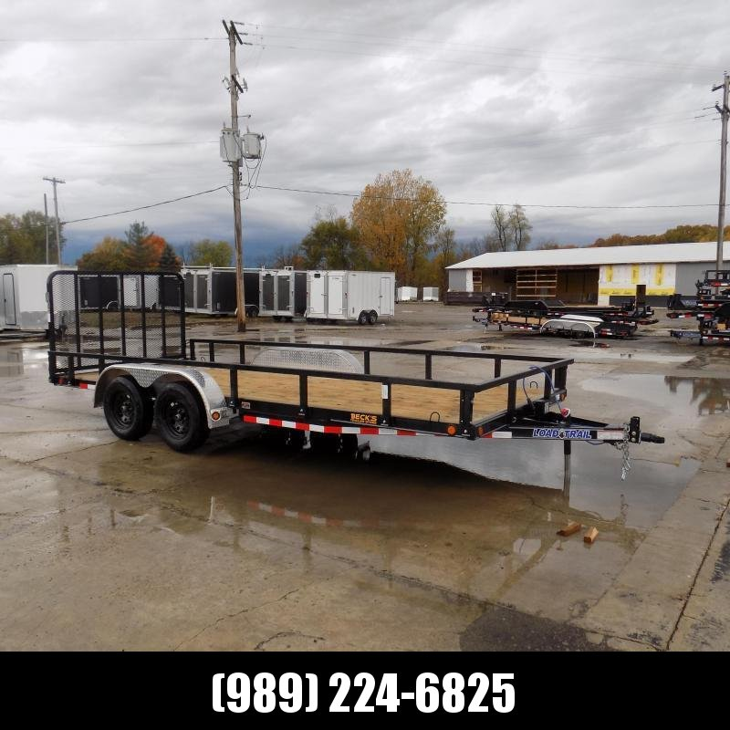 "New Load Trail 83"" x 18' Utility Trailer For Sale - $0 Down & Payments From $79/mo W.A.C."