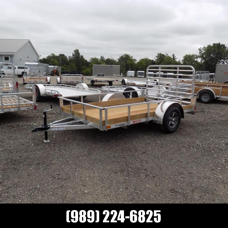 New Legend 6' x 10' Aluminum Utility Trailer- $0 Down Payment From $59/mo W.A.C