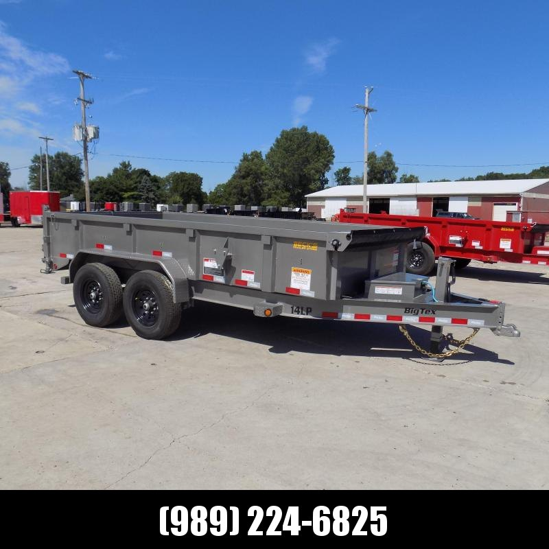 New Big Tex Trailers 7' x 14' Low Pro Dump Trailer For Sale - $0 Down Financing Available