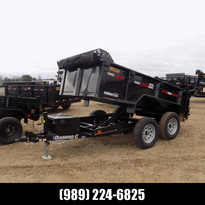 New Diamond C Trailers 5' x 10' Dump Trailer For Sale - $0 Down Financing Available - Low Rates