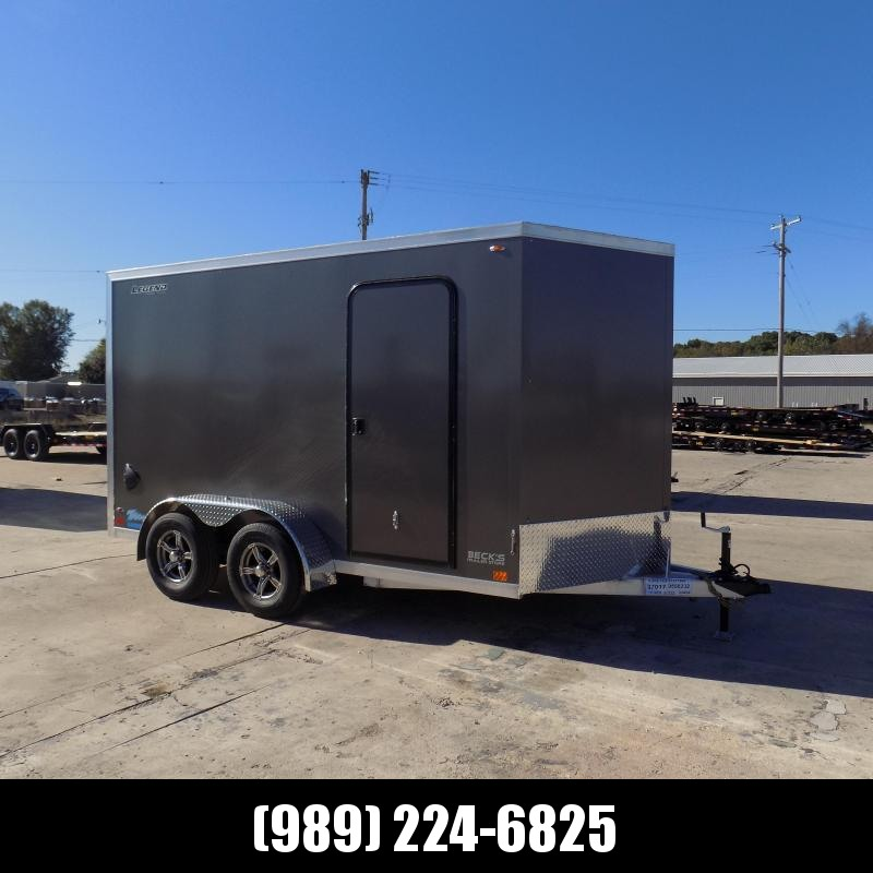 New Legend Thunder 7' x 14' Aluminum Enclosed Cargo Trailer for Sale- $0 Down Payments From $123/Mo W.A.C.