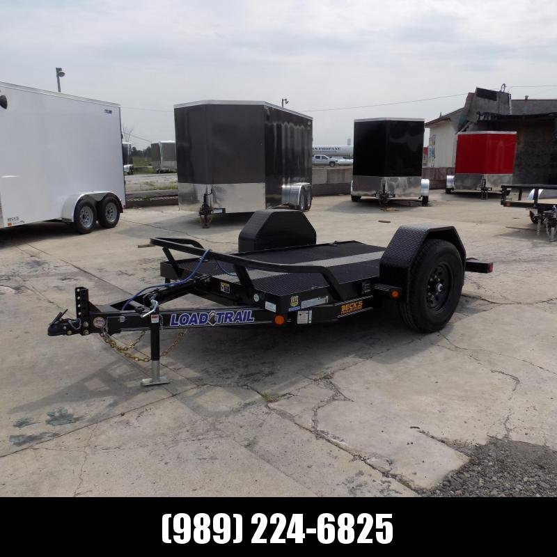 "New Load Trail 60"" X 10' Tilt Scissor Lift Trailer For Sale With 7K Torsion Axle - $0 Down & Payments From $99/mo. W.A.C."