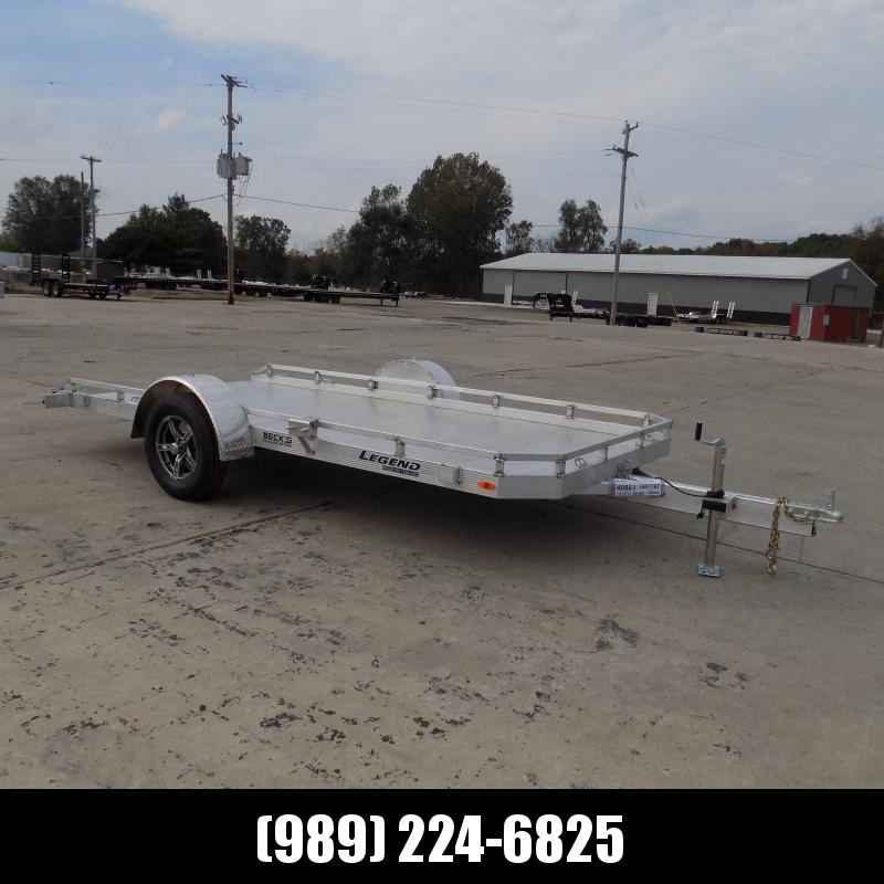 New Legend Open 7' x 14' Aluminum Utility Tilt - $0 Down & Payments From $119/mo. W.A.C.