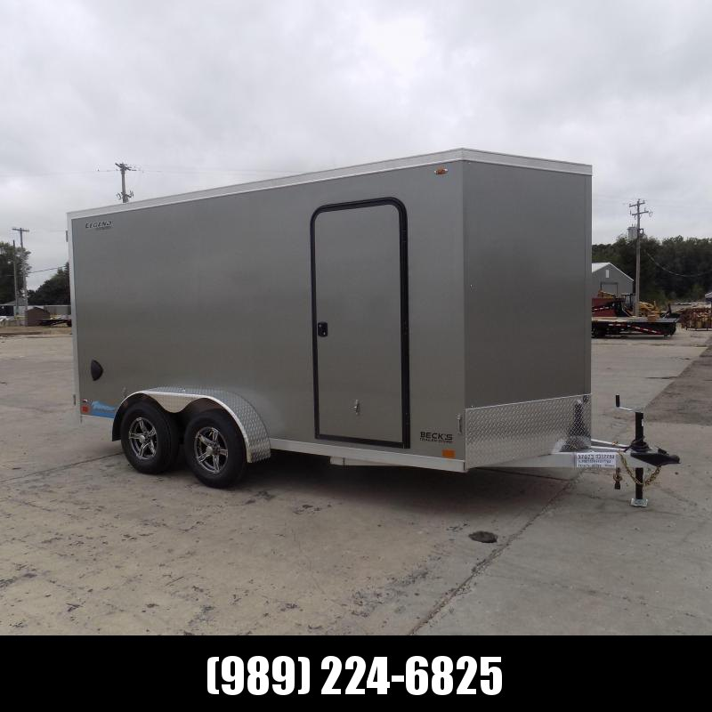 New Legend Thunder 7' x 16' Aluminum Enclosed Cargo Trailer for Sale- $0 Down Payments From $121/Mo W.A.C.