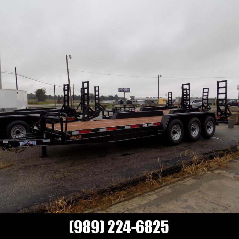 "New Texas Bragg Trailer 83"" x 22' Open Car Hauler/Equipment Trailer With 7K Axles - $0 Down w/Flexible Financing Available"