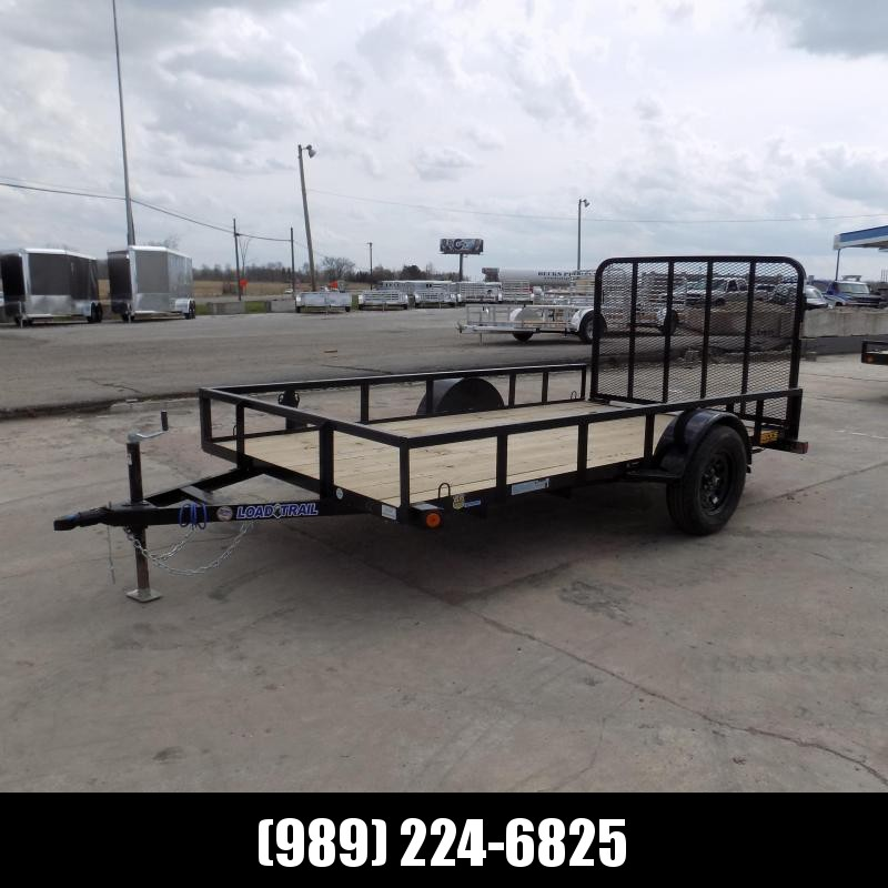 New Load Trail 6.5' x 12' Open Utility Trailer for Sale - Quality 3500# Dexter Axle - Financing Available